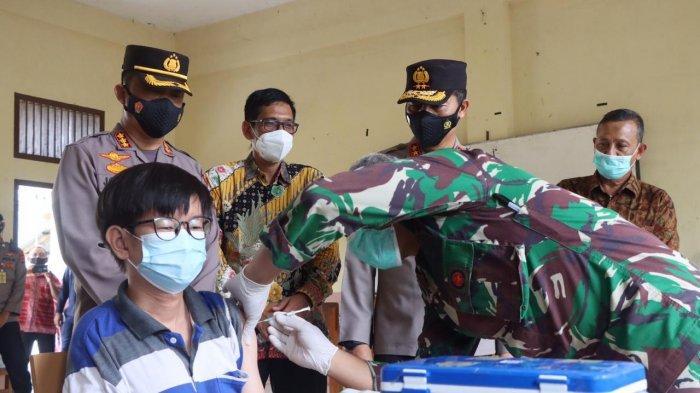Sebanyak 1 605 Warga Kota Banda Aceh Divaksin Ini Harapan Kapolresta Kombes Pol Joko Krisdiyanto Serambi Indonesia