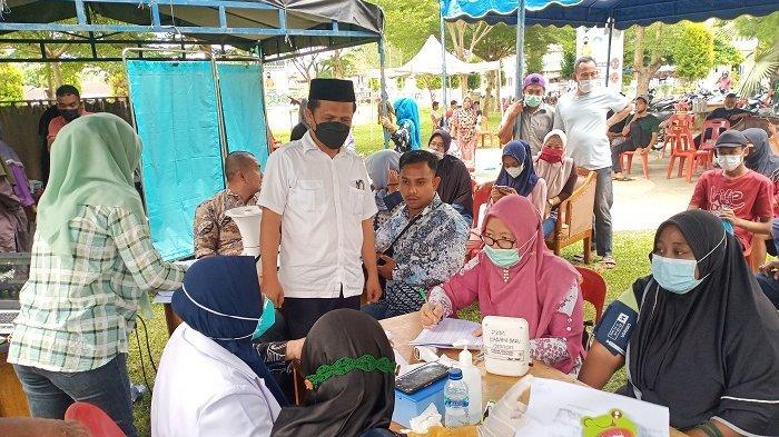 Mursil Minta Tambahan Dokter dari Dinkes Aceh, Kejar Percepatan Vaksinasi Covid-19 di Aceh Tamiang