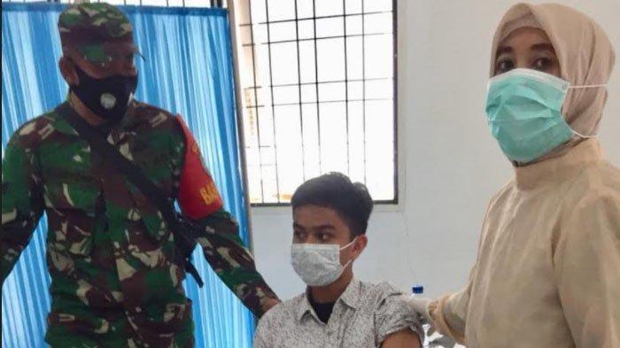 Anak Usia 12-17 Tahun Ikut Vaksinasi Massal di Nagan Raya