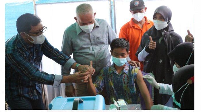 Sekda Ajak Semua Pihak yang Terlibat di Bidang Pendidikan Sukseskan Vaksinasi Siswa