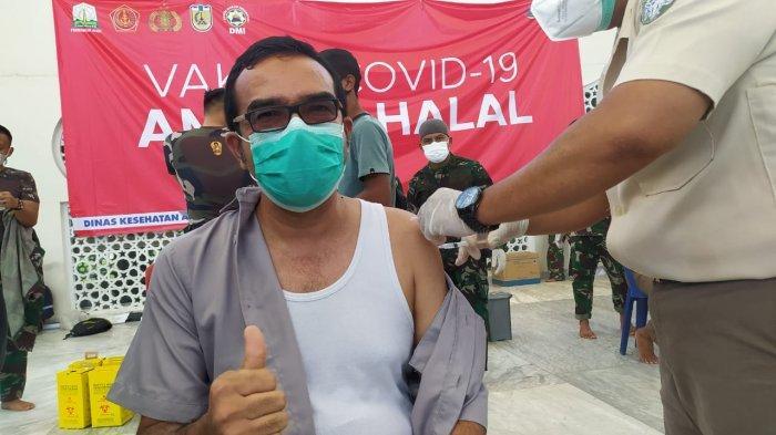 Persiapan Menuju PON Papua, Ratusan Atlet Pelatda Aceh Jalani Vaksinasi Covid-19