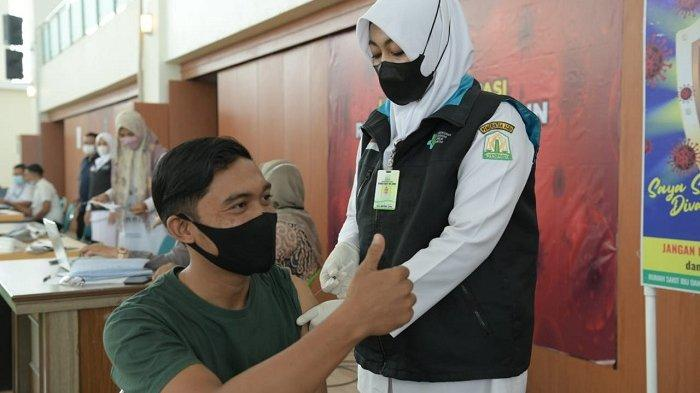 Hari Ini 403 Orang Divaksin Covid-19 di Banda Aceh Convention Hall, 263 Dosis I dan 140 Dosis Kedua
