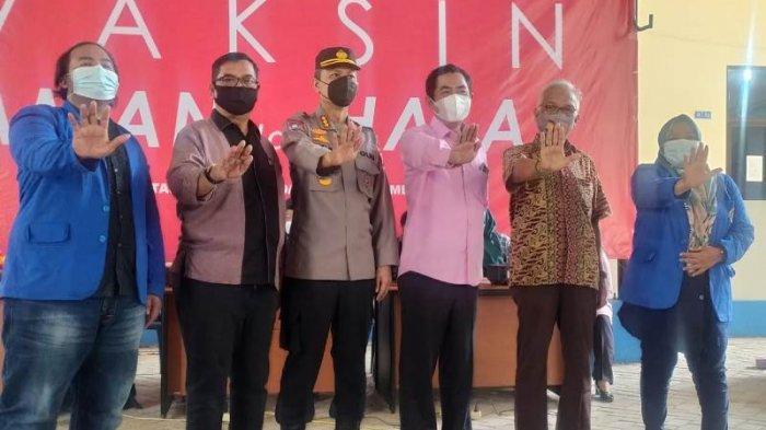 BEM Unida Banda Aceh dan Polda Aceh Gelar Vaksinasi untuk Warga, Besok dan Lusa Masih Berlangsung