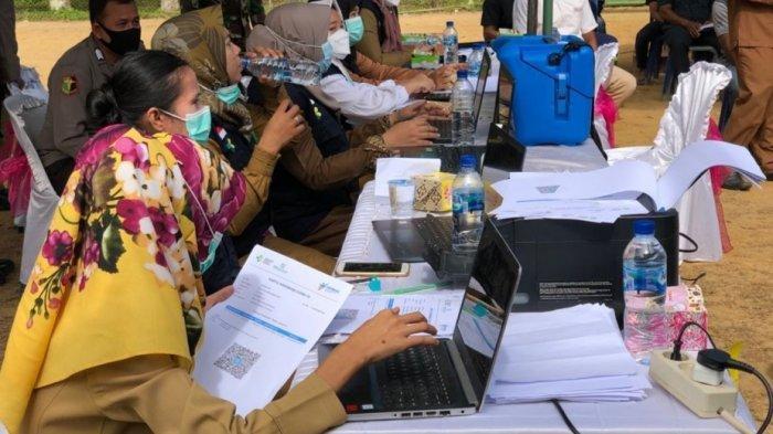 Belasan Ribu Warga Aceh Singkil Sudah Disuntik Vaksin Covid-19