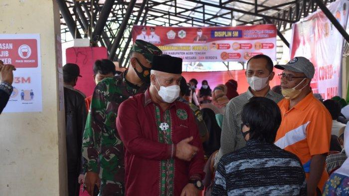 Dinkes Aceh Tengah Gelar Vaksinasi Covid-19 Secara Massal
