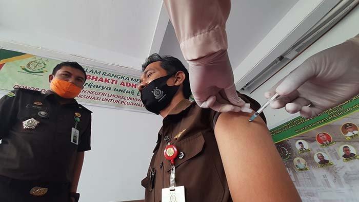 52.943 Warga Aceh Telah Divaksin Covid-19, Satgas: Antusiasme Masyarakat Sangat Tinggi