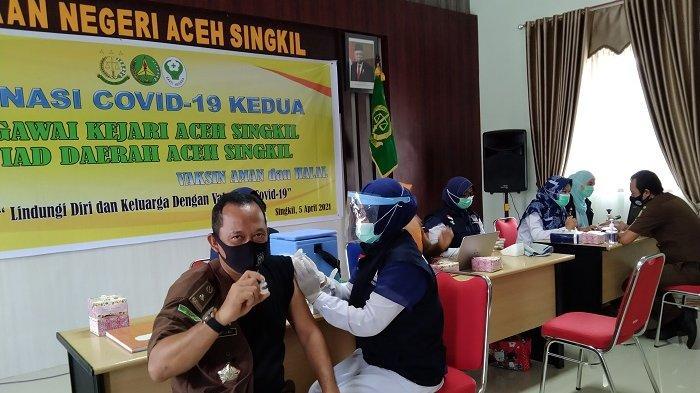 Sebanyak 4.011 Warga Aceh Singkil Tuntas Divaksin Covid