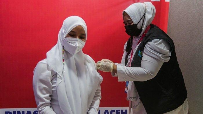 Hari Ini Vaksinasi Covid 19 Di Gedung Banda Aceh Convention Hall Dimulai Lagi Ini Manfaatnya Serambi Indonesia