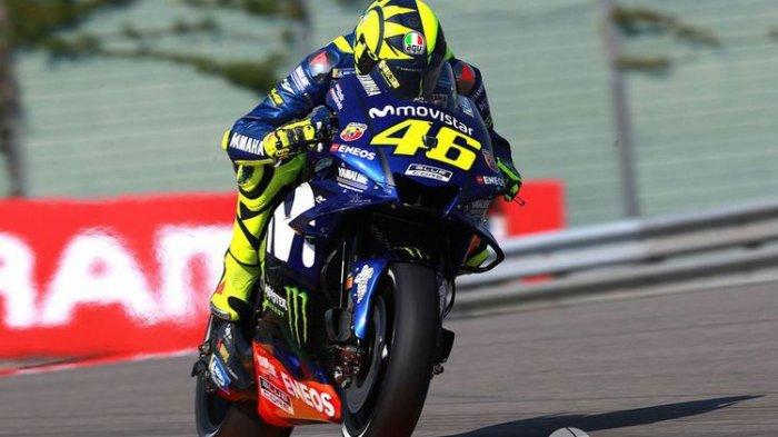 "Valentino Rossi Start Posisi 6 di MotoGP Jerman, Sedikit ""Galau"" Pilih Ban Belakang"