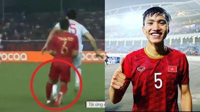 Detik-detik Bek Vietnam Sengaja Tendang Kaki Evan Dimas di Final Bola SEA Games 2019, Garuda Kalah