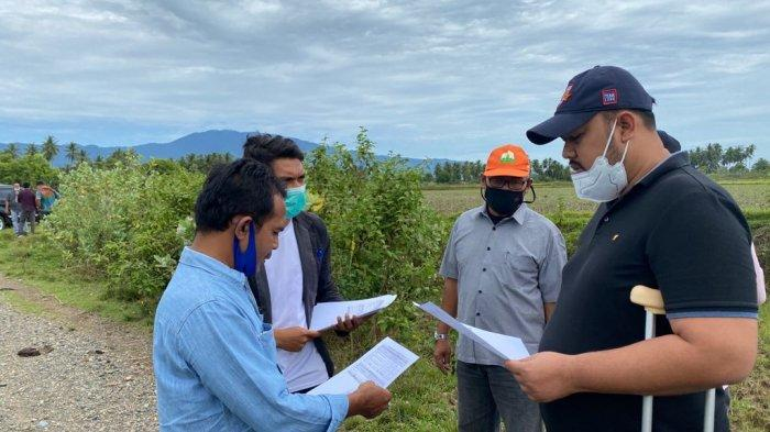 Tim DPMG Aceh Verifikasi Lahan Gampong Terdampak Pembangunan Jalan Tol di Aceh Besar