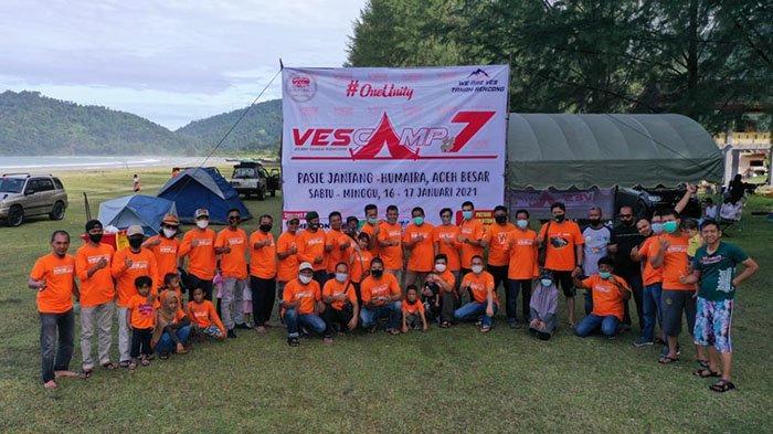 Puluhan Anggota Komunitas Vitara Escudo Sidekick Silaturahmi di Pasie Jantang