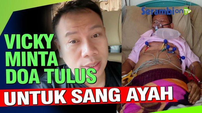 Vicky Prasetyo Kenang Momen Masa Kecil Bersama Mendiang Ayahandanya