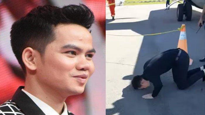 Video Faul Juara LIDA 2019 Sujud Syukur di Bandara Rembele Bener Meriah Viral di Medsos