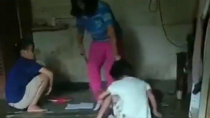 Viral Video Seorang Ibu Seret Anak, Lalu Dipukul dan Ditampar, Pelaku Ditangkap Polisi dan Ditahan
