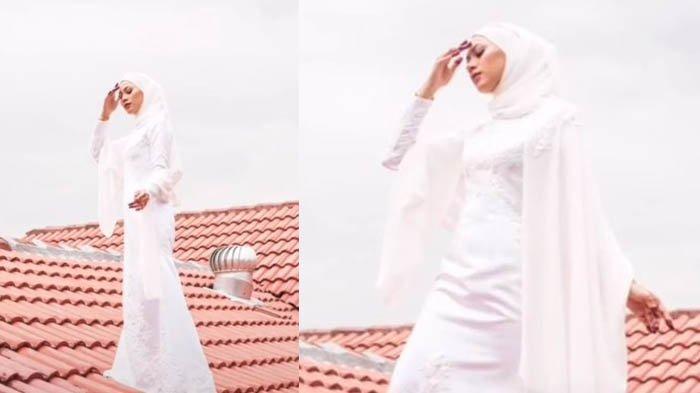 VIRAL Aksi Menegangkan Pengantin Foto Prewedding di Atap Rumah, Ternyata Ada Alasan