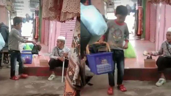 Viral Anak Penjual Gorengan Berbagi Rezeki Meski dalam Keterbatasan