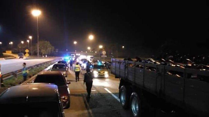 Viral Balapan Liar Disambut Polisi di Garis Finish, Pertaruhkan Uang Sebesar Rp 14 Juta