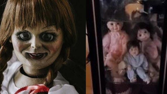 Video Viral Boneka Bergerak Sendiri ketika Direkam, Pria ini Samakan Dengan Annabelle