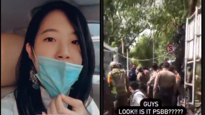 Viral, Cerita Seorang Wanita yang Ditangkap Gegara Turunkan Masker Sebentar, Kritik Posko PSBB