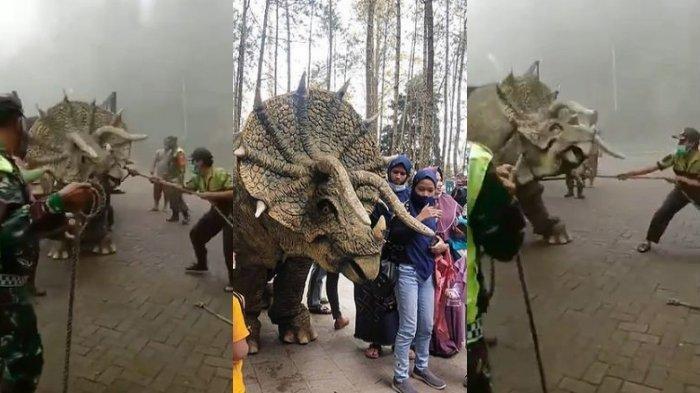 Viral Video Dinosaurus Ngamuk Turun dari Truk di Magetan, Berikut Sederet Faktanya