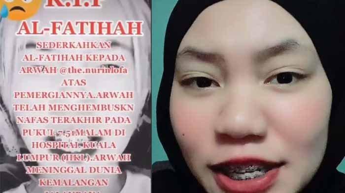 Gadis ini syok dirinya diberitakan meninggal kecelakaan oleh seorang followersnya