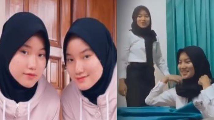 VIRAL Gadis Kembar Tukaran Posisi Ikuti Ospek Via Zoom, 'Kalau Capek Gantian Deh'