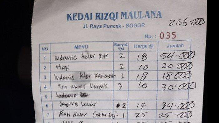 2 Mie Telur Rp 54 Ribu, Harga Makanan dan Minuman di Warung Ini Jadi Perbincangan Warga Twitter