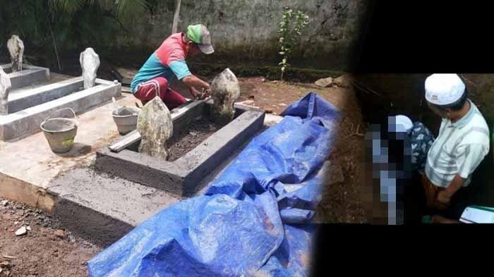 Sudah 4 Tahun Dikubur, Anak Syok Lihat Jasad Ayah Utuh saat Makam Ambles, Ini Amalannya Semasa Hidup
