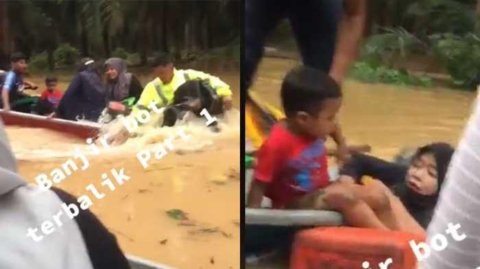 VIRAL Kapal Motor yang Bawa Satu Keluarga Tenggelam karena Melaju Terlalu Kencang