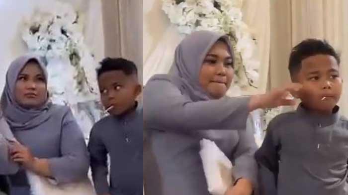 VIRAL Kesal Adik Asik dengan Lolipop di Mulut saat Foto Keluarga, Kakak Tarik sampai Gigi Adik Sakit