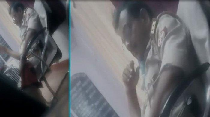 Oknum Polisi Onani di Depan Wanita yang Adukan Persoalan Hukum, Pelaku Dipecat Setelah Video Viral