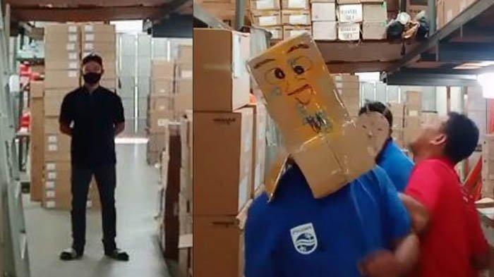 Viral Para Buruh Hibur Diri dengan Menari TikTok di Tempat Kerja, Bos Nonton Berkacak Pinggang