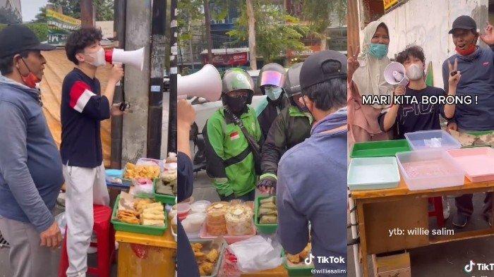 Viral Pemuda Borong Dagangan Takjil Lalu Dijual Lagi Nol Rupiah, Tindakannya Bikin Penjual Kaget