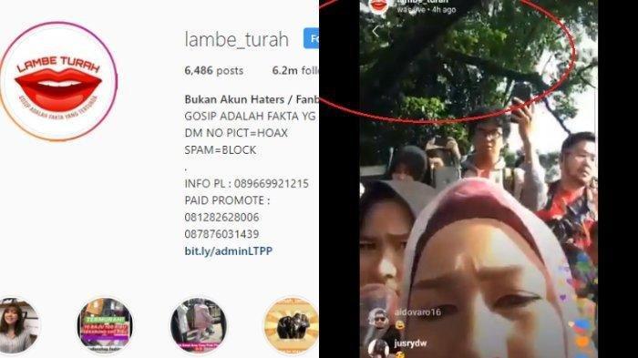 Salah Pencet Kamera Saat Live, Sosok Admin Lambe Turah Tak Sengaja Terekspos