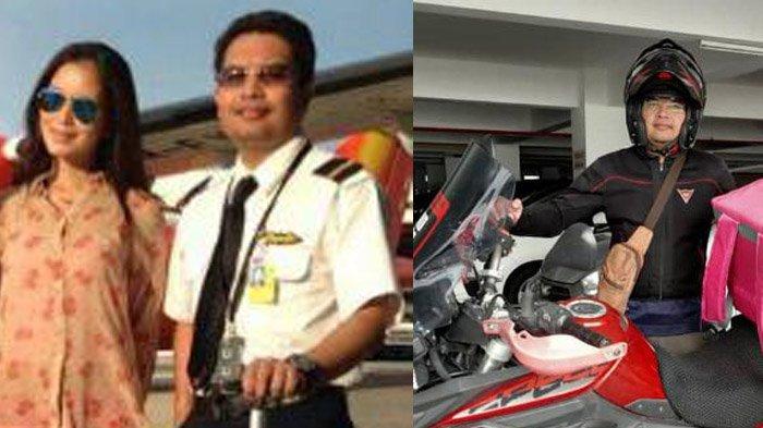 Akibat Covid-19, Pilot Beralih Profesi jadi Pengantar Makanan, Antar Pesanan Pakai Moge