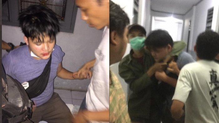 VIRAL Seorang Pria Tertangkap Basah Masuk Kosan Wanita, Pelaku Dibawa ke Kantor Polisi