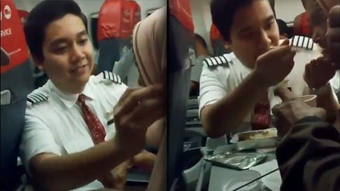 VIRAL Pramugara Lion Air Suapi Nenek Lansia di Pesawat, Ini Fakta-faktanya