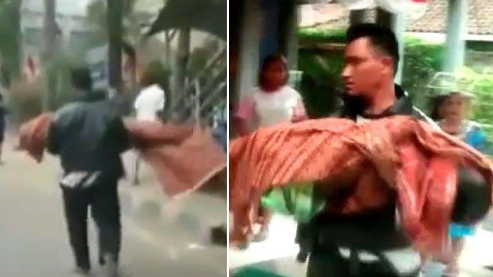 6 Fakta Pria Gendong Jenazah Jalan Kaki, Husen Tewas Tenggelam hingga Ambulans Tak Bisa Dipakai