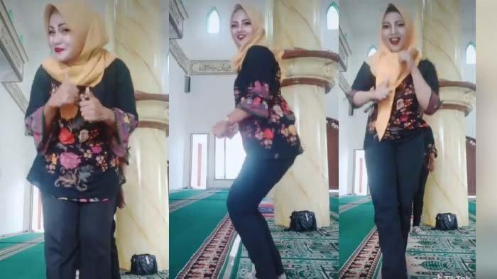 Viral Video Ibu-Ibu Berjoget di Dalam Masjid