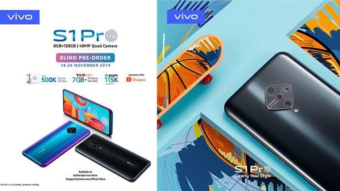Vivo S1 Pro Diluncurkan 25 November, Sudah Bisa Dipesan Sekarang, Begini Caranya!