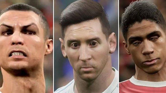 Mata Ronaldo Juling, Messi dan Varane Lebih Parah, eFootball 2022 Di-bully, Konami Minta Maaf