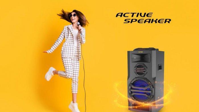Wajib Punya, Active Speaker Ini Bisa Support Gitar dan Keyboard