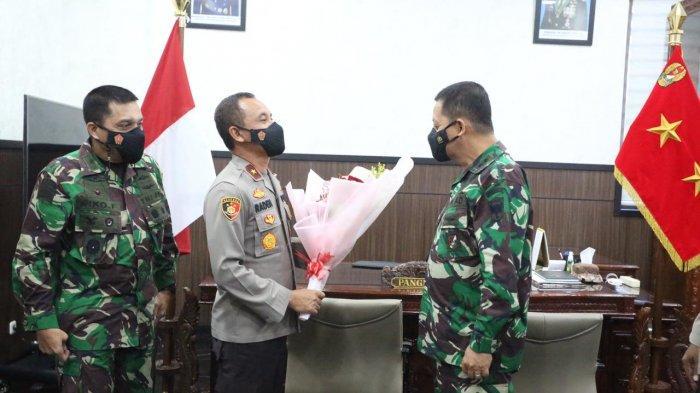 Sambut Hari Bhayangkara Ke 75, Wakapolda Aceh Silaturahmi Ke Kodam IM