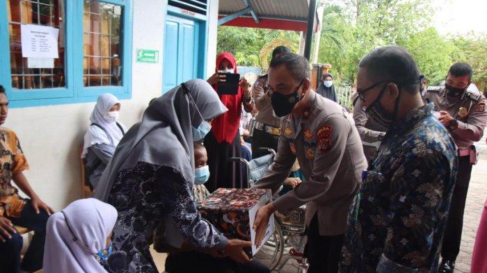 Wakapolda Aceh Sambangi Anak-anak Difabel SLB di Aceh Besar