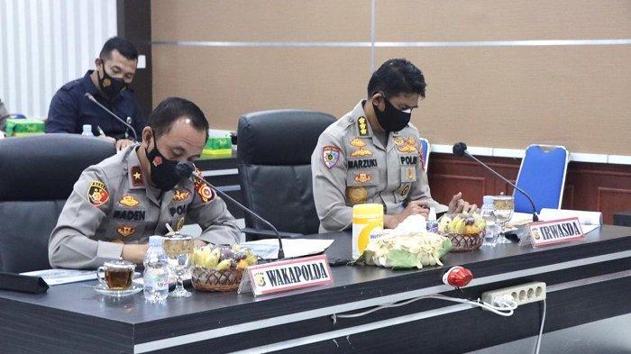 Wakapolda Aceh Ingatkan Satgas Covid-19 Daerah Tingkatkan Patroli Kesehatan