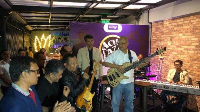 Wakapolda Launching Aceh Jazz Society di Kyriad Muraya Hotel