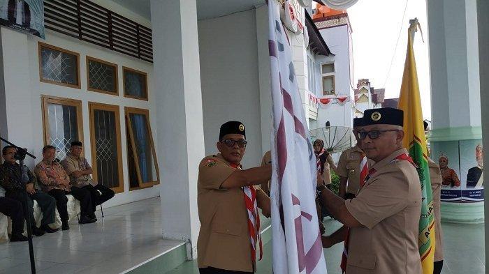 Wakil Bupati Aceh Jaya Lepas Kontingen MTR