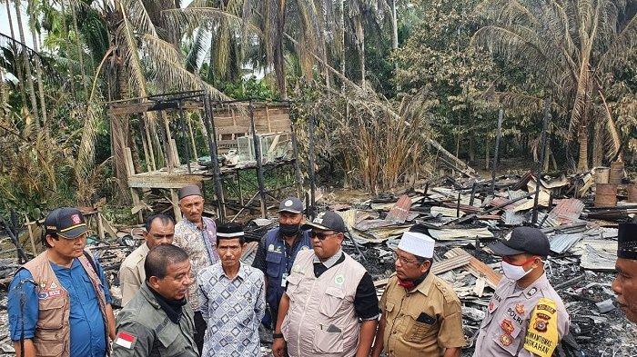 Lima Korban Kebakaran di Aceh Utara Terima Bantuan, Ini Rinciannya