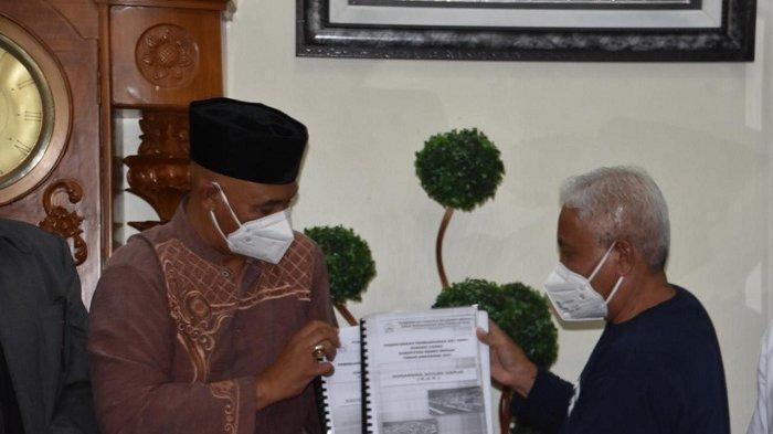 Wakil Bupati Bener Meriah Dailami Serahkan DED Dry Port Bener Meriah